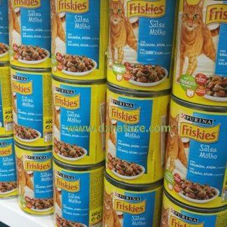 أكل صحي للقطط معلبات purina friskies
