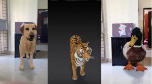 3D google عرض ثلاثي الابعاد للحيوانات من طرف ڨوڨل